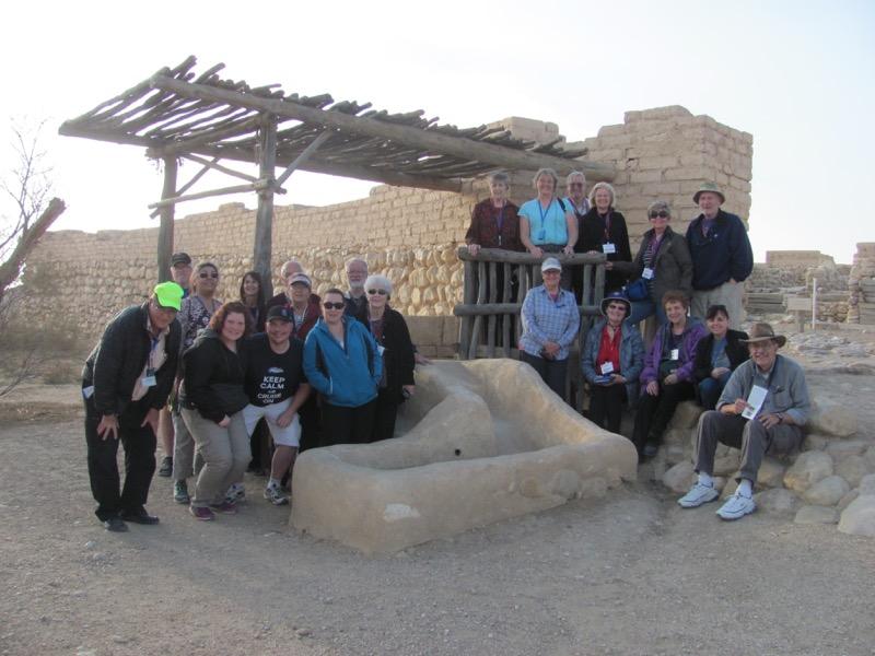 Tel Beersheba January 2017 Israel Tour