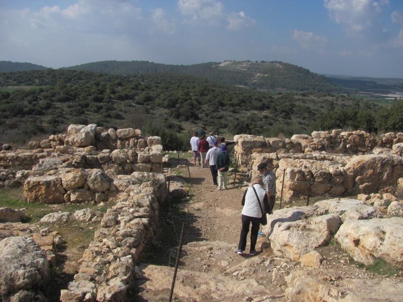 qeiyafa gae january 2017 israel tour