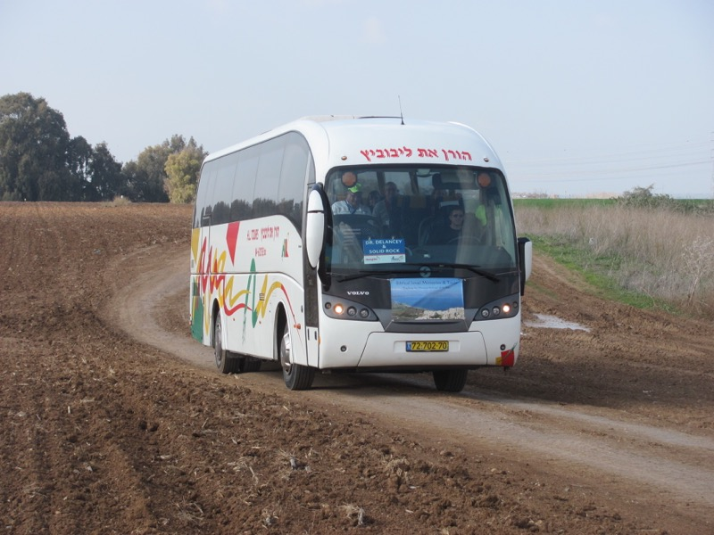 Bus driving to gath january 2017 israel tour