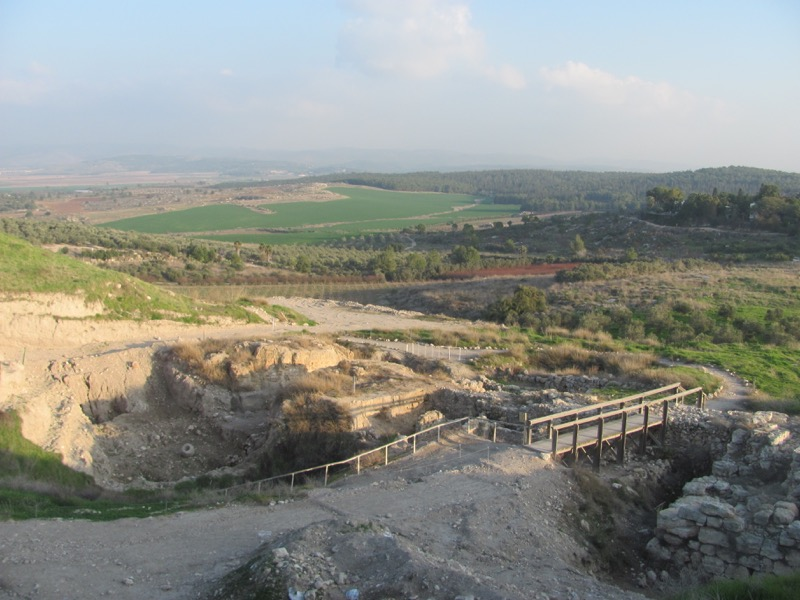 middle bronze gezer january 2017 israel tour