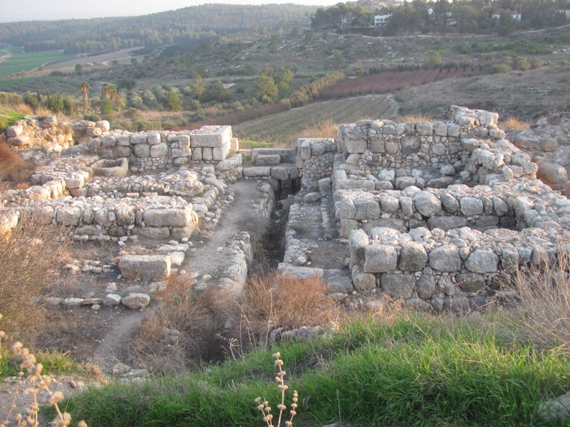 solomon's gate gezer january 2017 israel tour