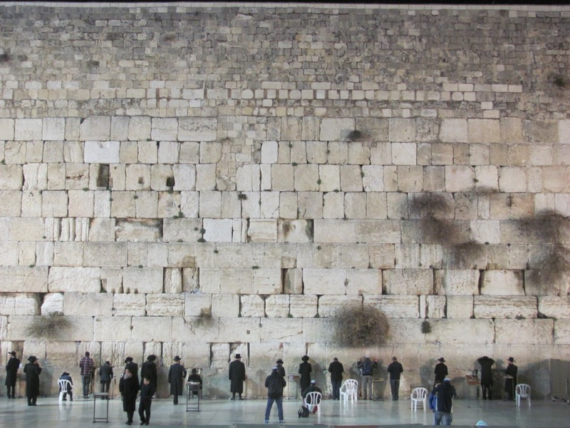 western wall january 2017 israel tour