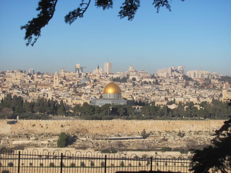 Temple Mount Jerusalem January 2017 israel tour