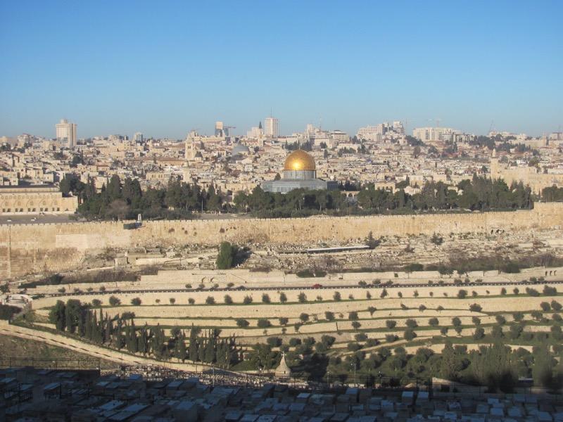 Temple Mount old city jerusalem January 2017 Israel Tour