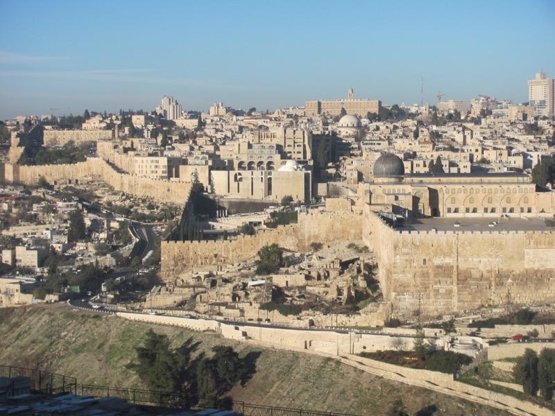 Jerusalem City of David January 2017 israel tour