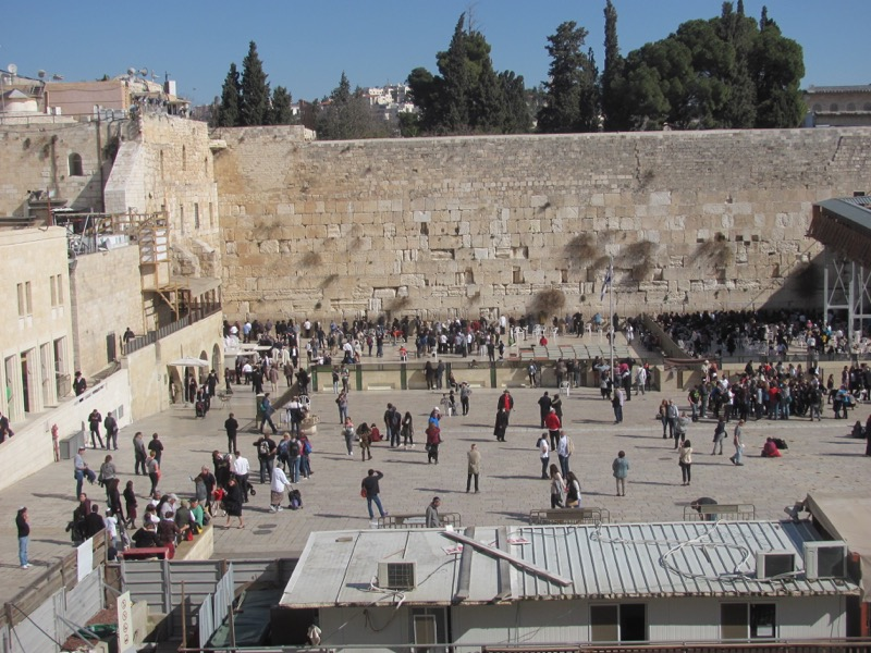 Western Wall Jerusalem January 2017 Israel Tour