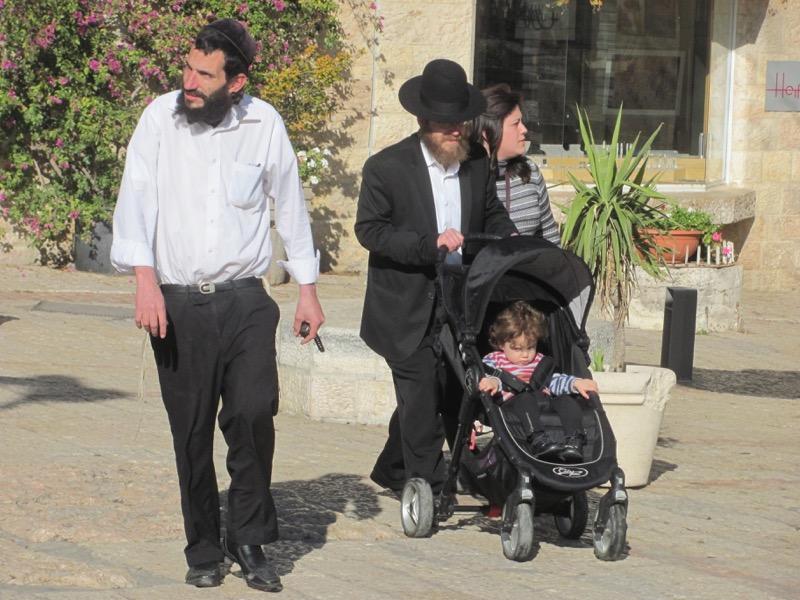 Jewish family Jerusalem January 2017 Israel Tour