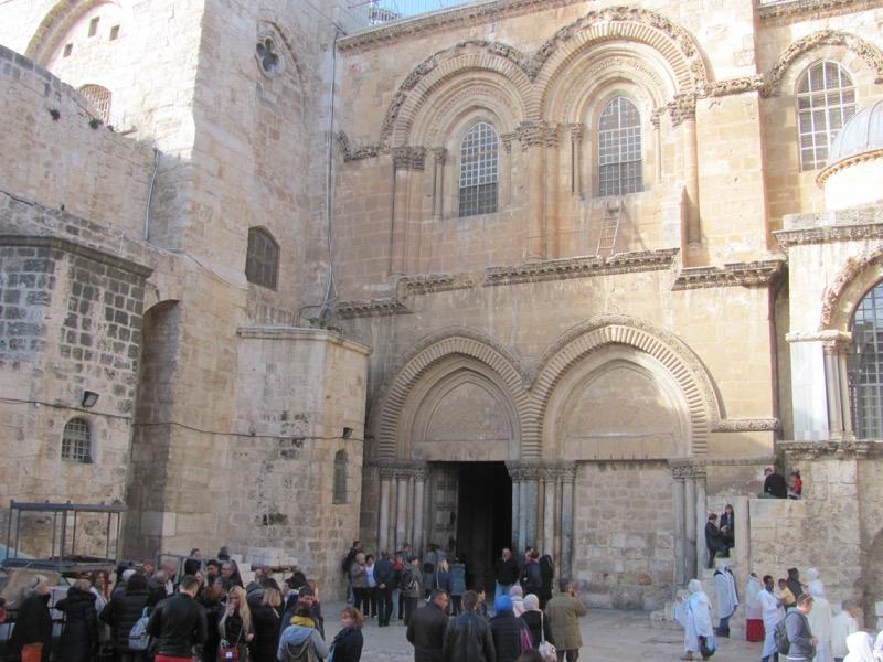 Holy sepulcher church Jerusalem January 2017 Israel Tour