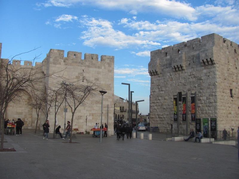 Jaffa Gate January 2017 Israel Tour