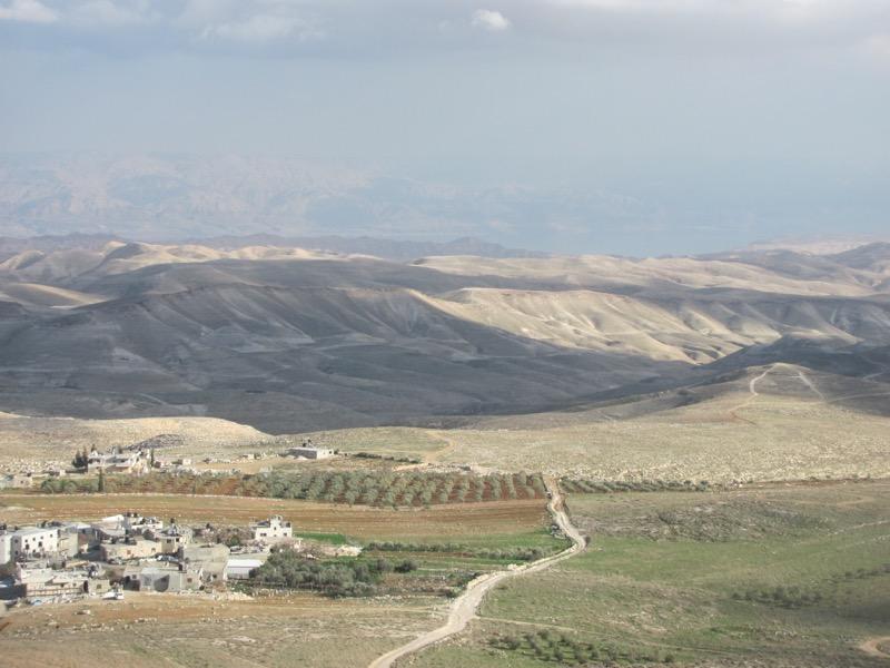 Judean Desert Tekoa January 2017 Israel Tour