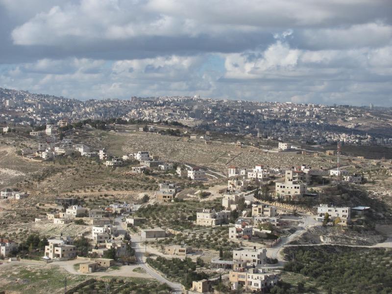Jerusalem from Herodium January 2017 Israel Tour