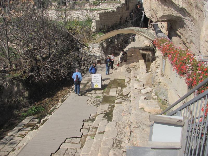 Pool of Siloam Jerusalem January 2017 Israel Tour