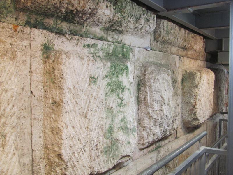 Temple Herodian stone Jerusalem January 2017 Israel Tour