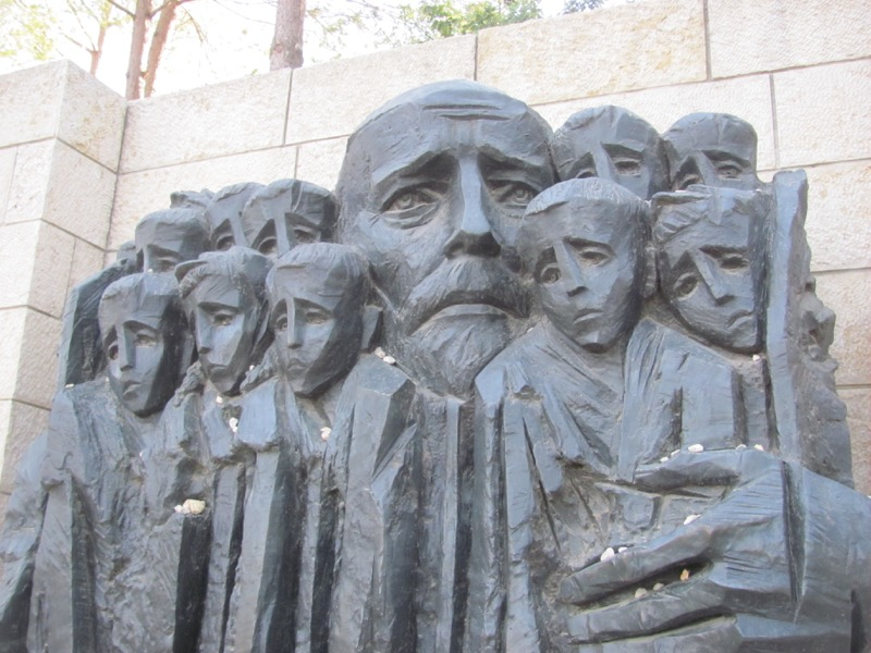 Yad Vashem sad father Jerusalem January 2017 Israel Tour