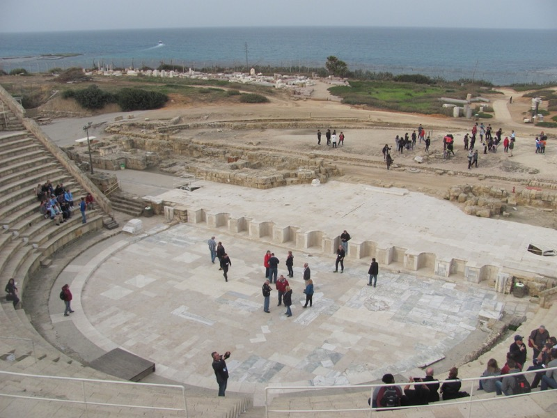 Caesarea Theater January 2017 FAM Israel Tour