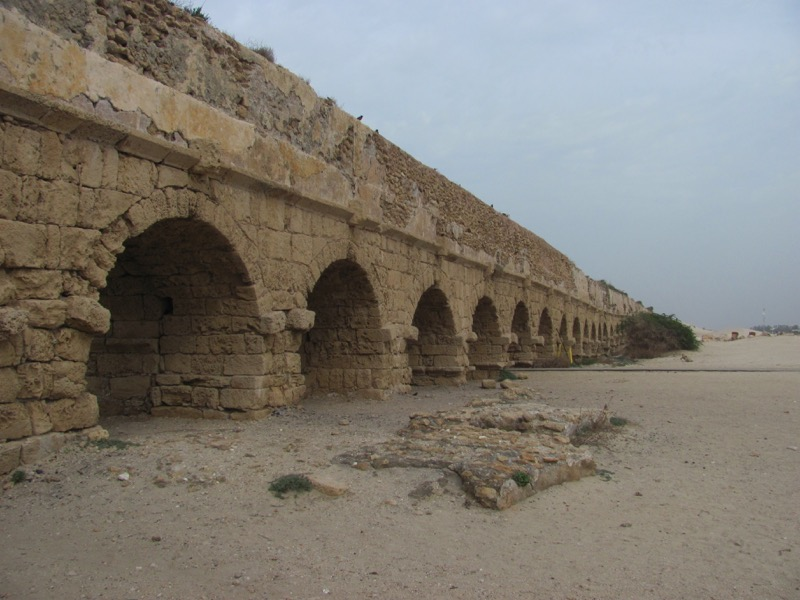 Caesarea aquaductJanuary 2017 FAM Israel Tour