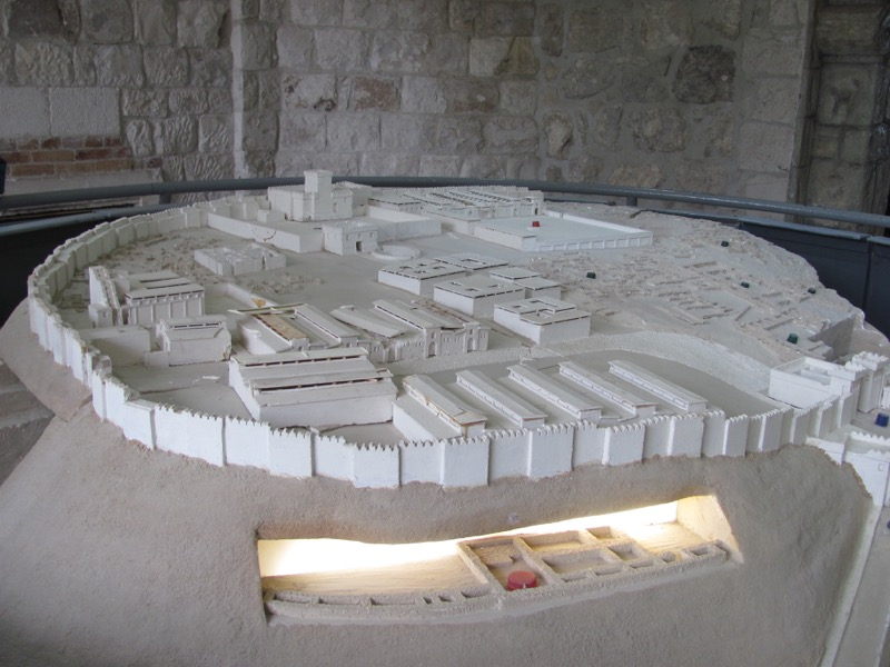 Megiddo model January 2017 FAM Israel Tour