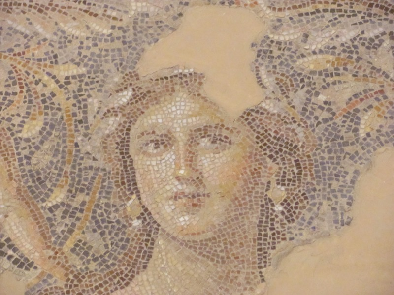 Sepporis Mosaic Mona Lisa January 2017 FAM Israel Tour