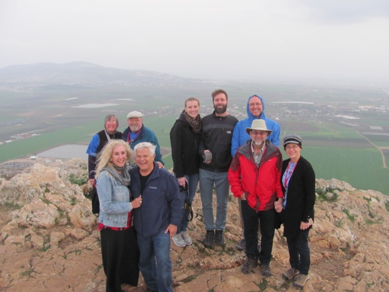 Jezreel Valley January 2017 FAM Israel Tour