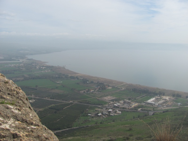 Mt. Arbel January2017 FAM Israel Tour