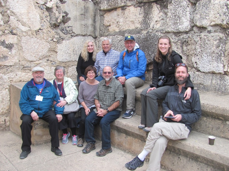 Capernaum January 2017 FAM Israel Tour
