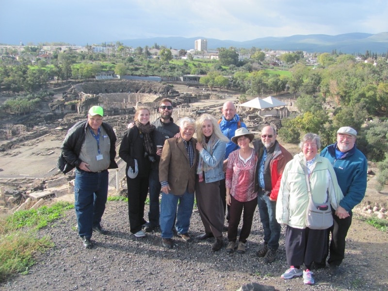 Beth Shean January 2017 FAM Israel Tour