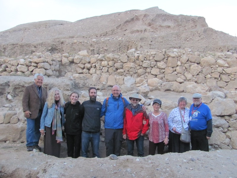 Jericho walls January 2017 FAM Israel Tour