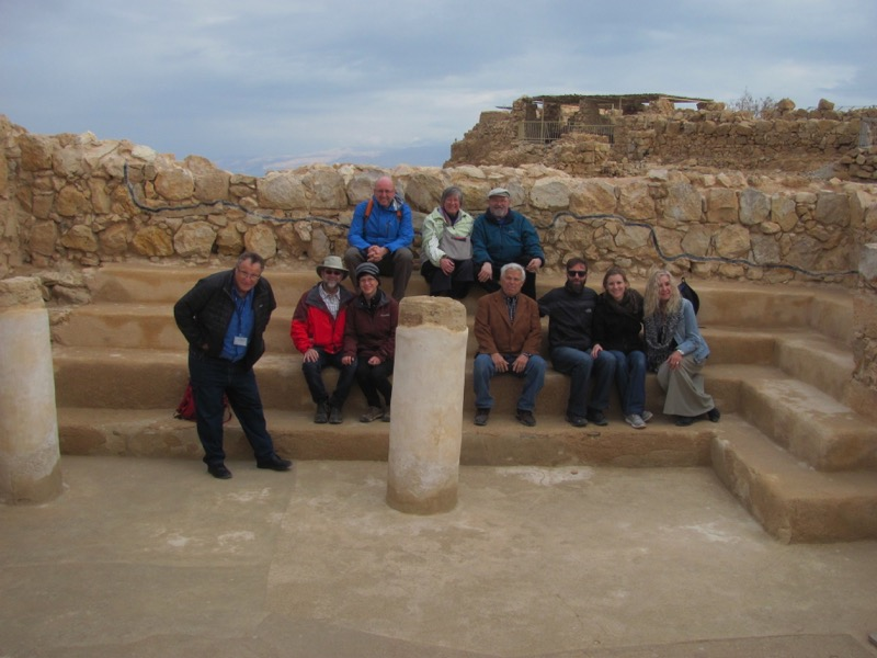 Masada synagogue January 2017 FAM Israel Tour