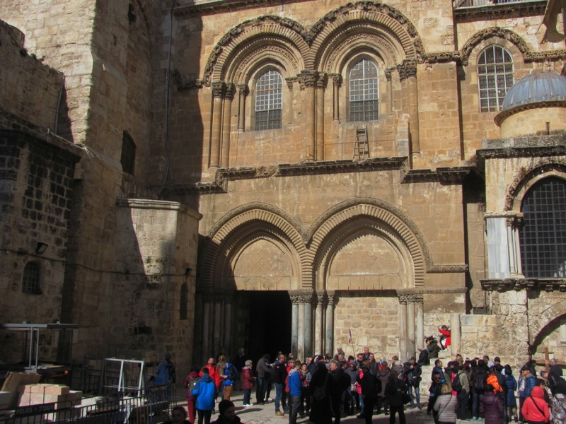 Holy Sepulcher church January 2017 FAM Israel Tour