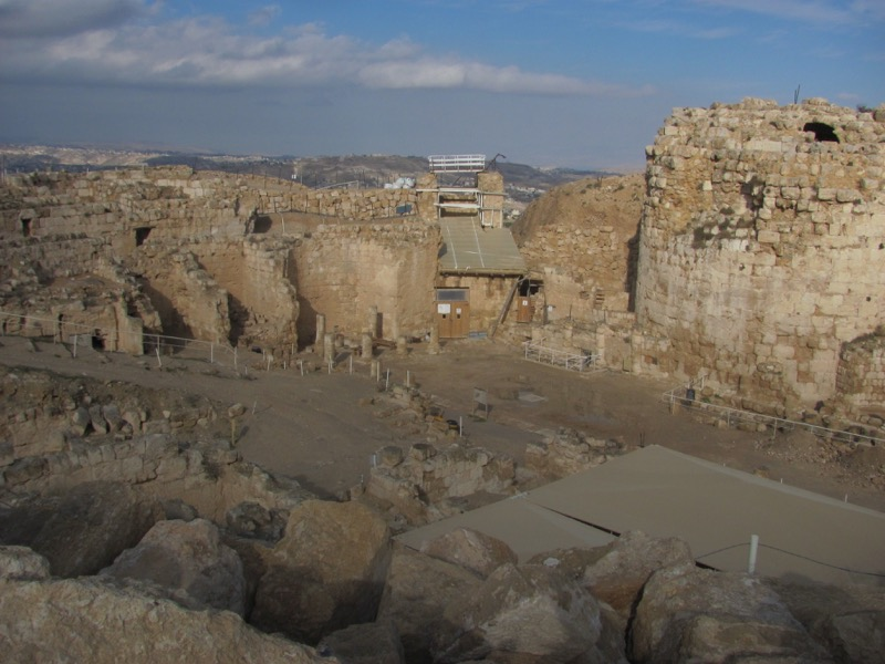 Herodium January 2017 FAM Israel Tour