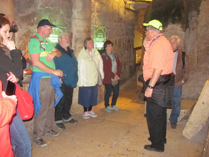 Western Wall tunnel Jerusalem January 2017 FAM Israel Tour