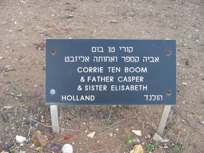 Yad Vashem Corrie ten Boom Jerusalem January 2017 FAM Israel Tour