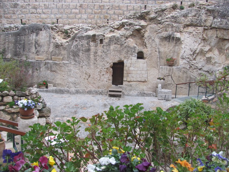 Garden Tomb January 2017 FAM Israel Tour