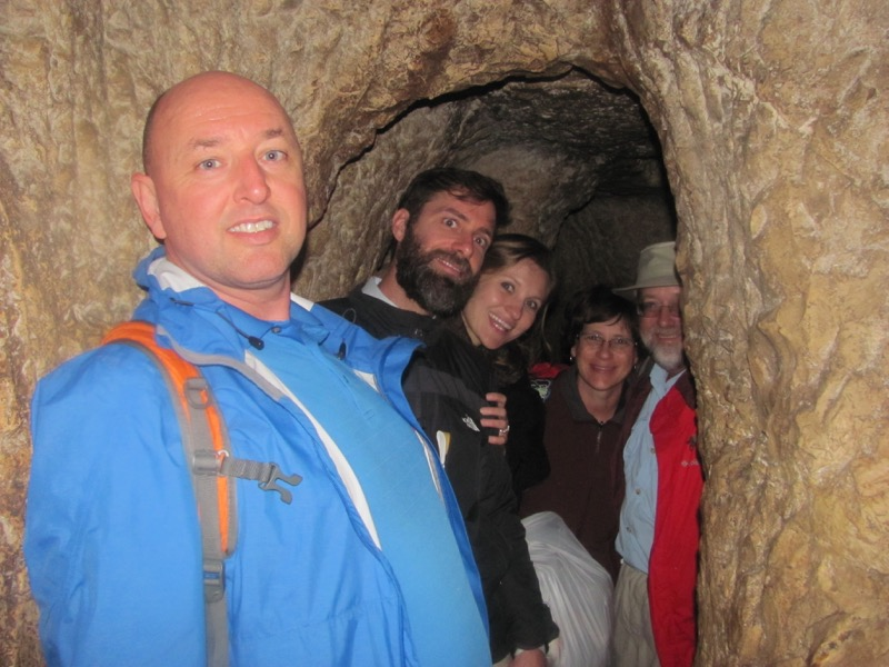 Hezekiah's Tunnel January 2017 FAM Israel Tour