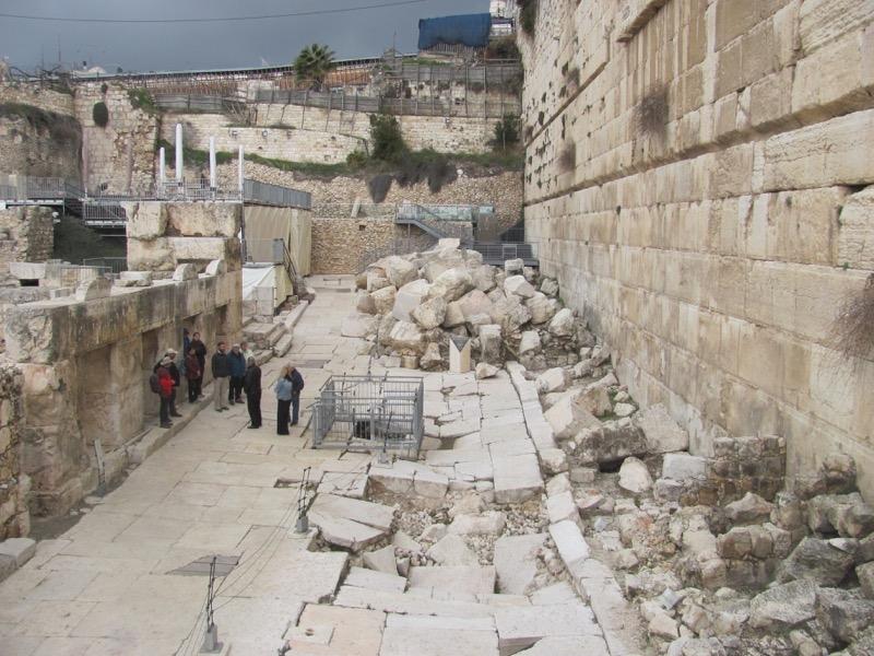 Herodian street in Jerusalem