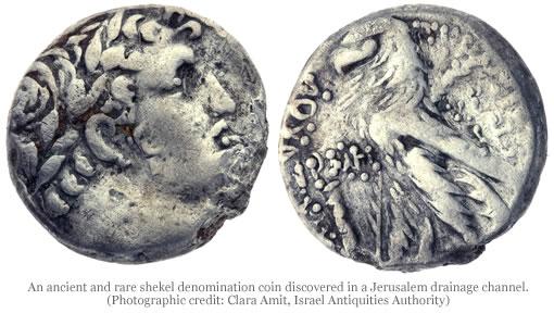 Silver Shekel Coin