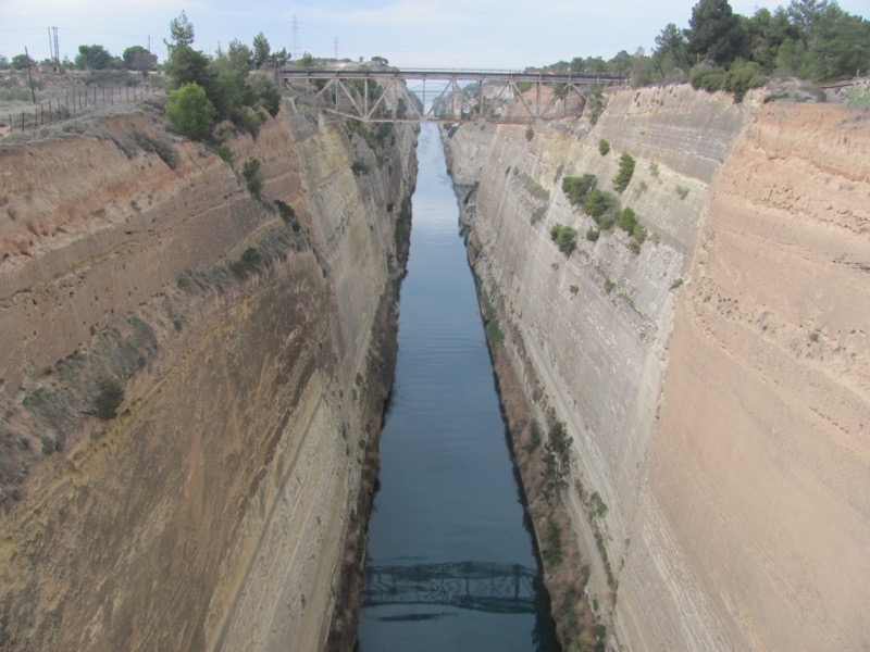 Corinth Canal February 2017 Greece Tour
