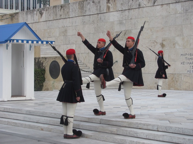 Changing of guard Athens Greece Tour