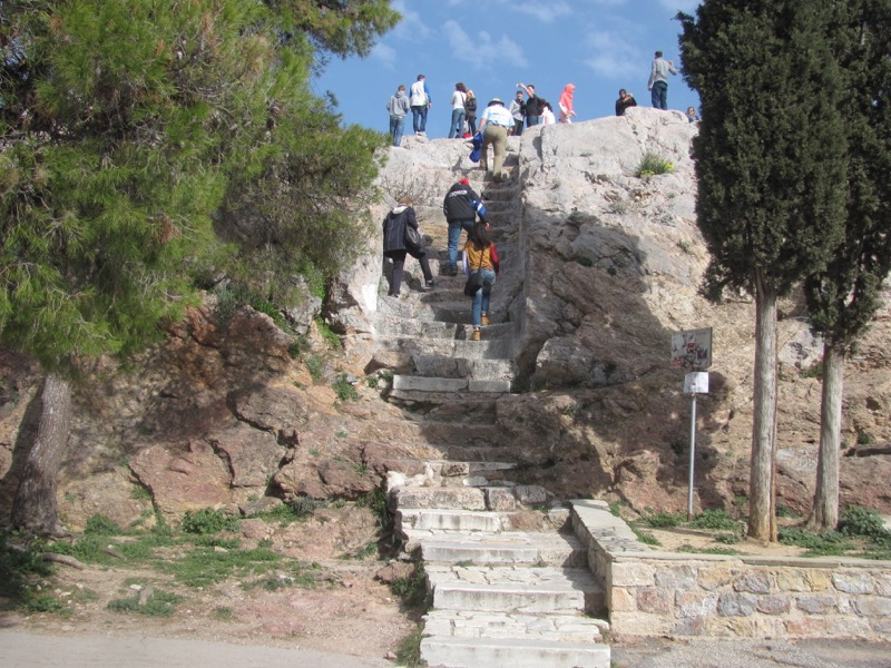 Athens Mar's Hill Greece Tour February 2017