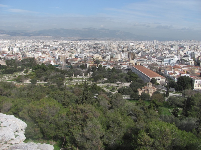 Athens Agora Greece Tour February 2017
