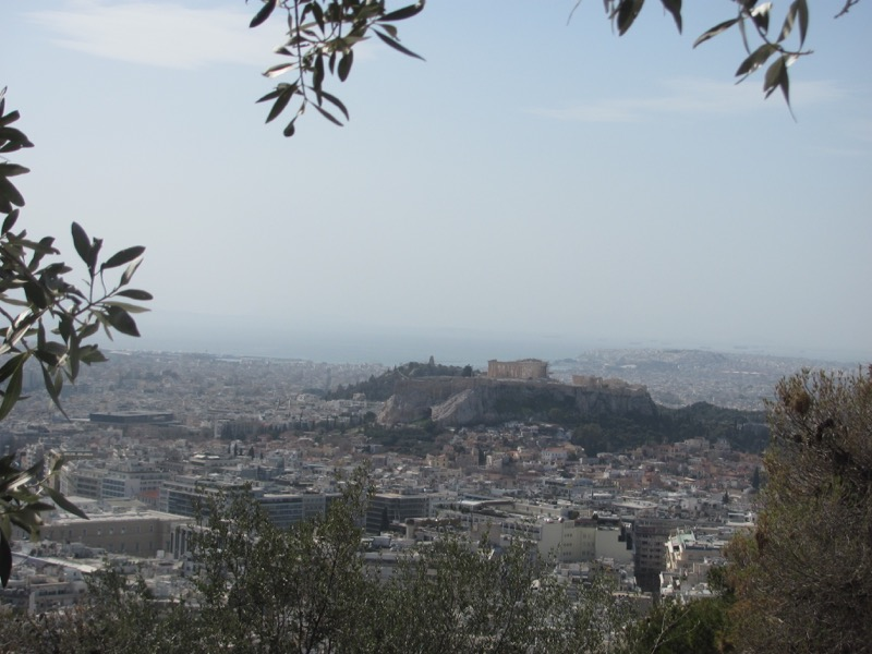 Athens Acropolis Greece Tour February 2017