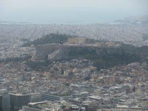 Acropolis from lycabetus