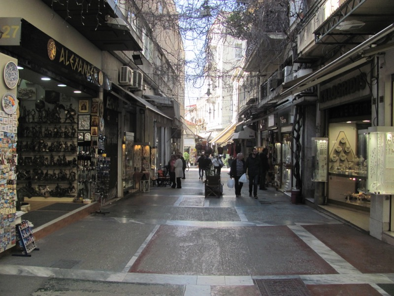 Athens Plaka Greece Tour February 2017