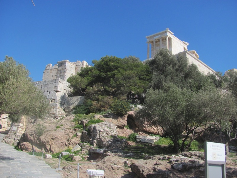 Acropolis Propylea Greece Tour February 2017