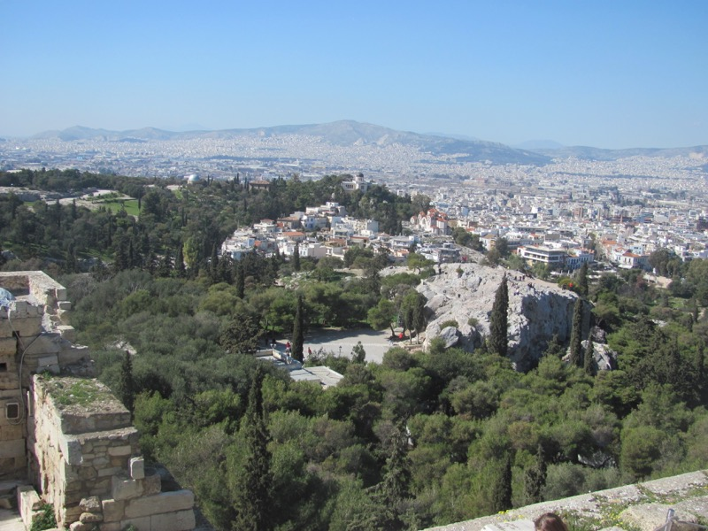 Acropolis Mars Hill Greece Tour February 2017