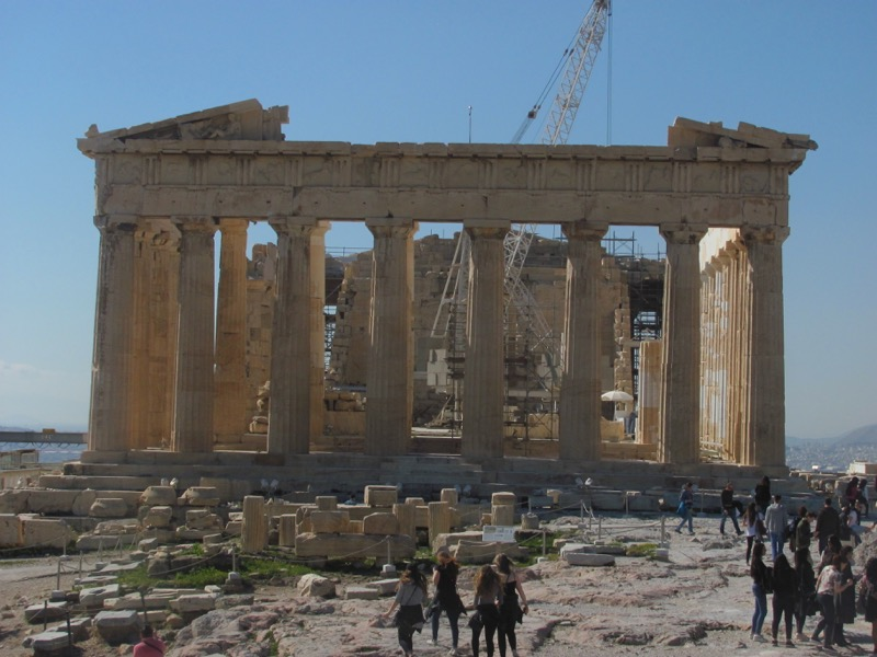 Acropolis Parthenon Greece Tour February 2017