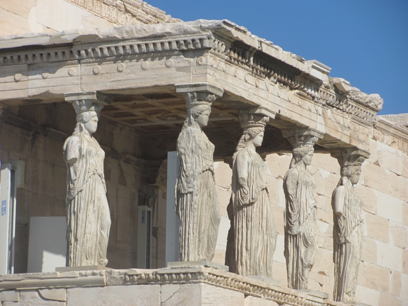 Acropolis Erechtheum Greece Tour February 2017