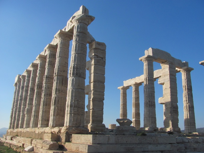 Cape Sounion Temple of Poseiden Greece Greece Tour February 2017