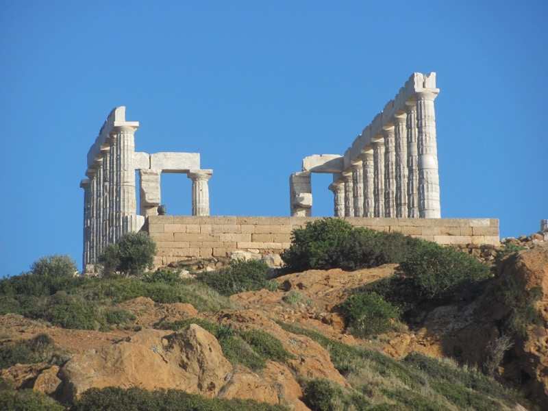 Cape Sounion Temple of Poseiden Greece Tour February 2017