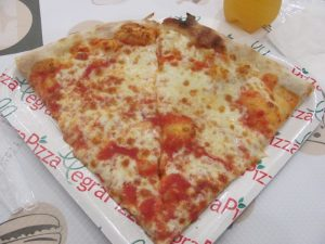 lunch - pizza in Rome